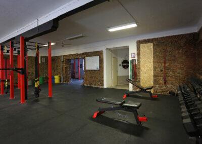 Powergymcz Písek – Prostor gymu